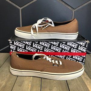New W/ Damaged Box! Vans Authentic Sepia Brown
